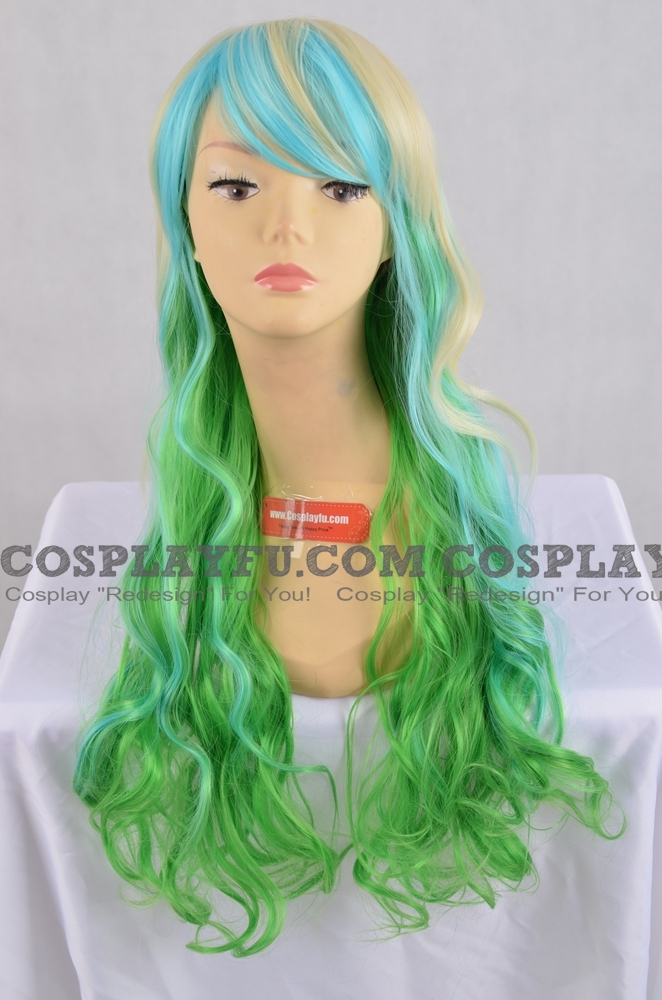 Mix Color Wig (Long,Wavy,B17)