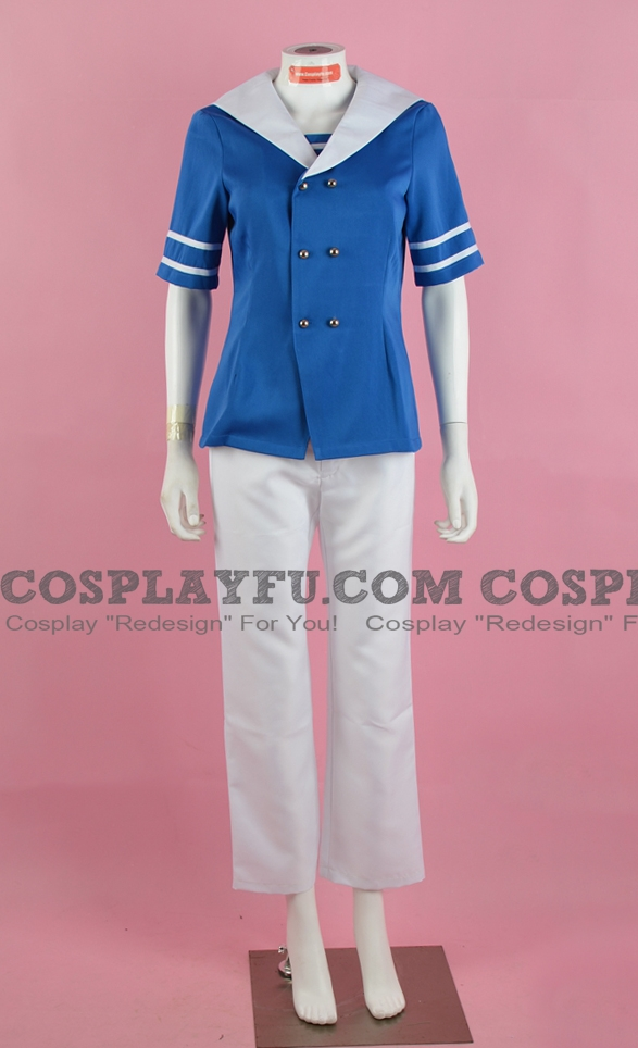 Denmark Cosplay Costume from Axis Powers Hetalia