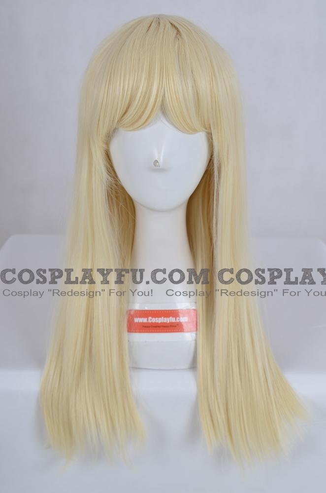 Yellow Wig (Medium,Straight,B22)