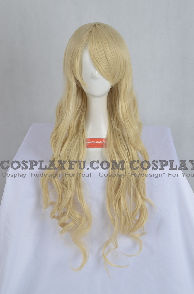 Yellow Wig (Long,Wavy,B27)