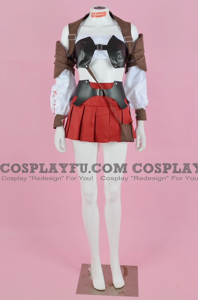 Lightning Cosplay Costume (Female Miqote) from Lightning Returns Final Fantasy XIII