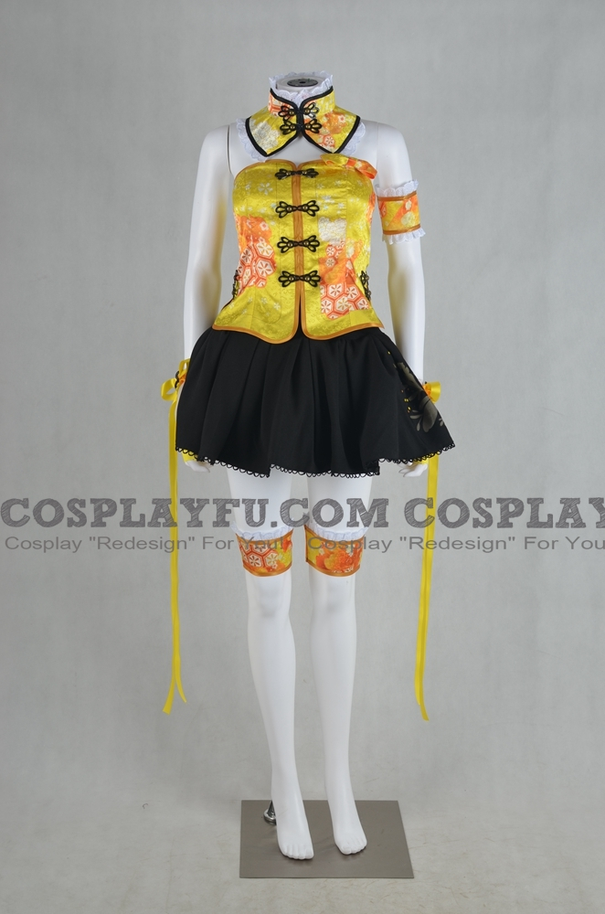 Rin Cosplay Costume (China Dress Idolized) from Love Live