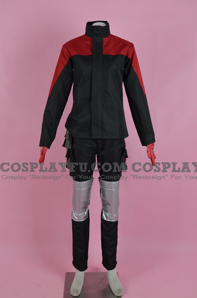 Arashi Cosplay Costume from Triage X