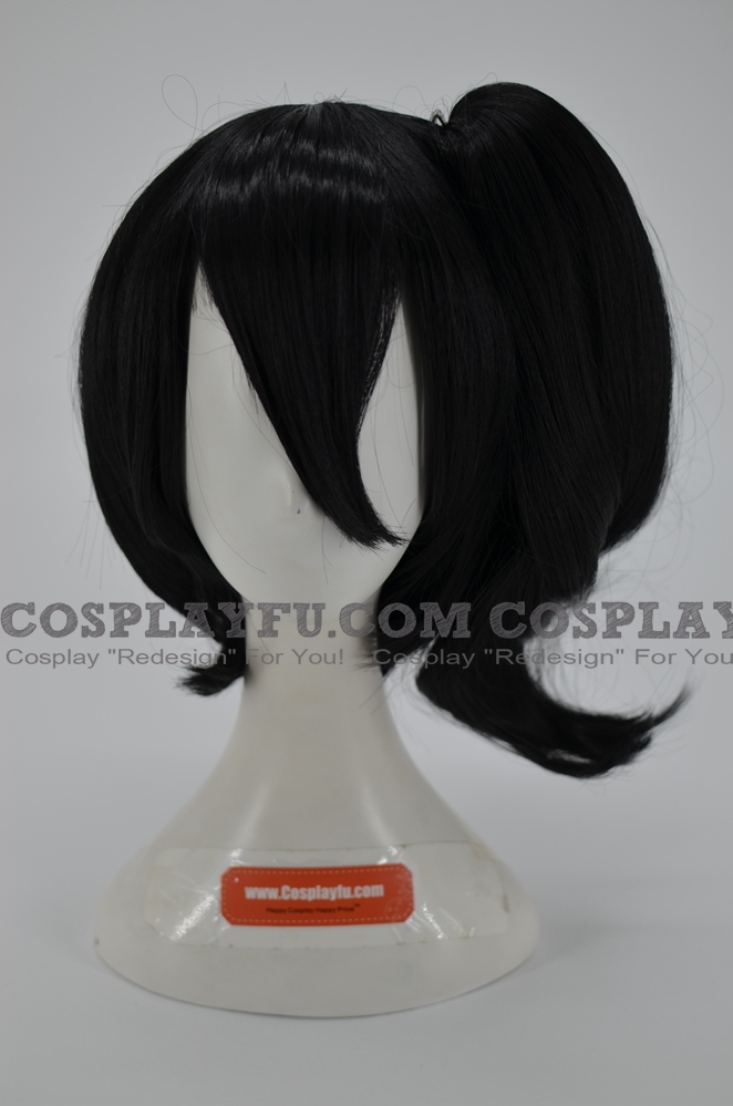 Kaga Wig (Black) from Kantai Collection