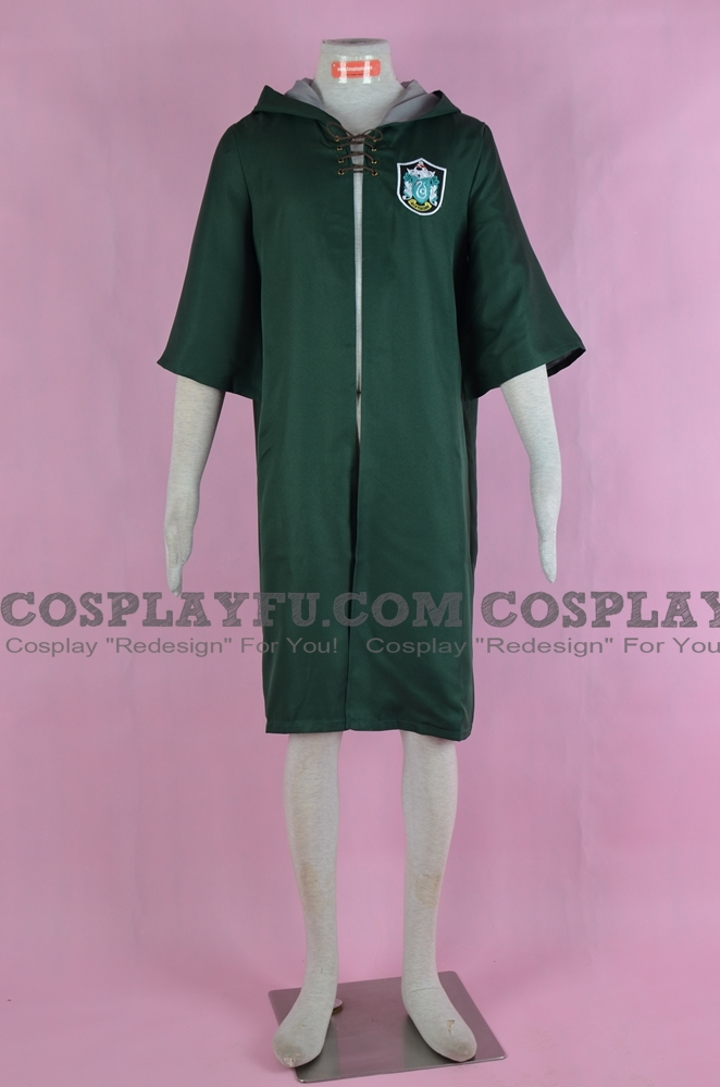 Malfoy Cosplay Costume (Slytherin Robe) from Harry Potter