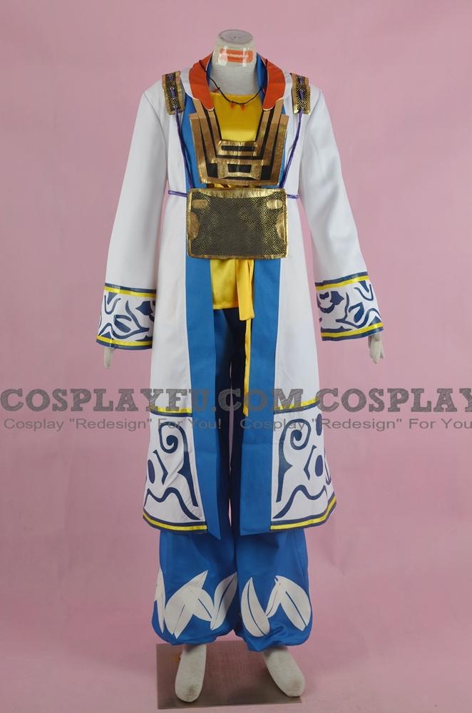 Hanbei Cosplay Costume from Samurai Warriors