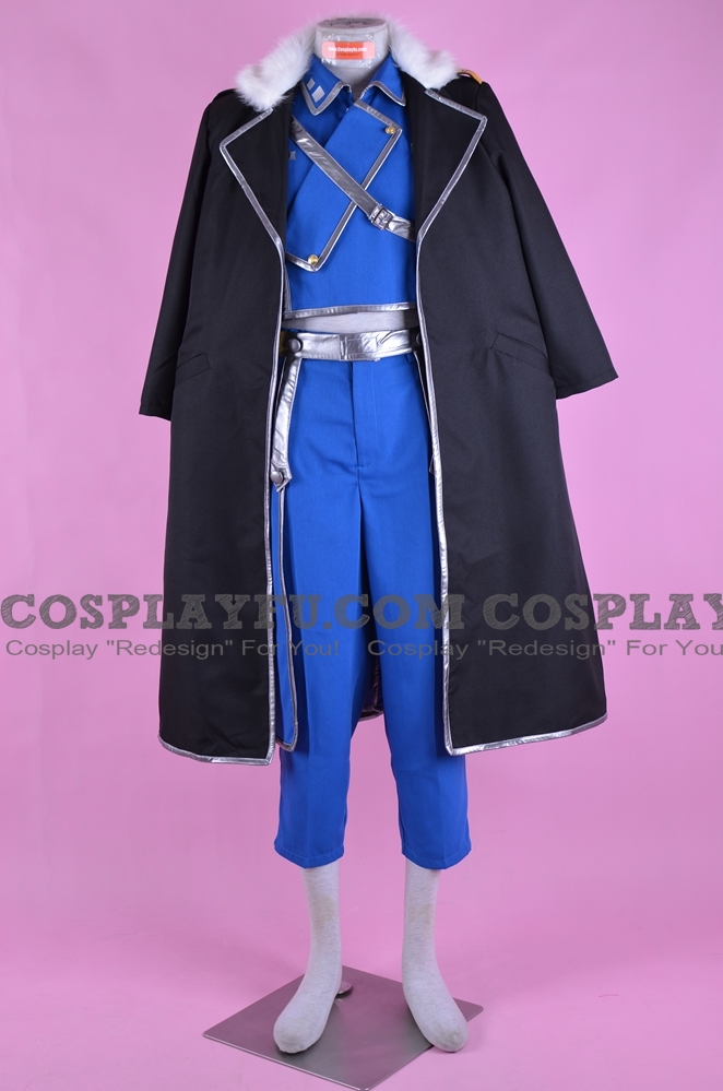 Olivier Cosplay Costume from FullMetal Alchemist