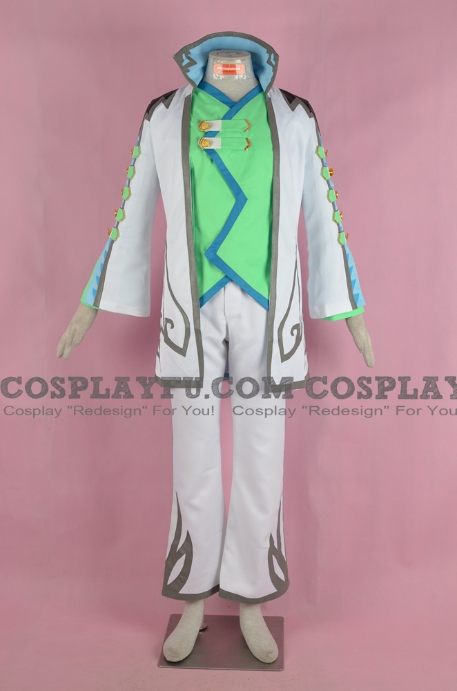 Asbel Cosplay Costume from Tales of Graces