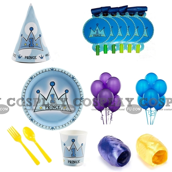 Birthday Party Kits (01 Deluxe)