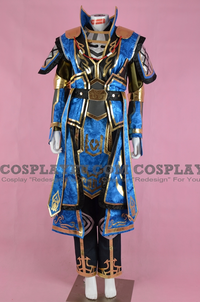 Xiahou Dun Cosplay Costume from Dynasty Warriors