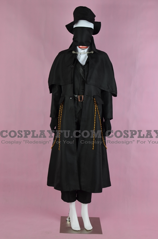 The Hunter Cosplay Costume from Bloodborne