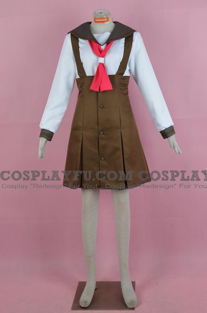 Nadeko Cosplay Costume (School Uniform) from Bakemonogatari