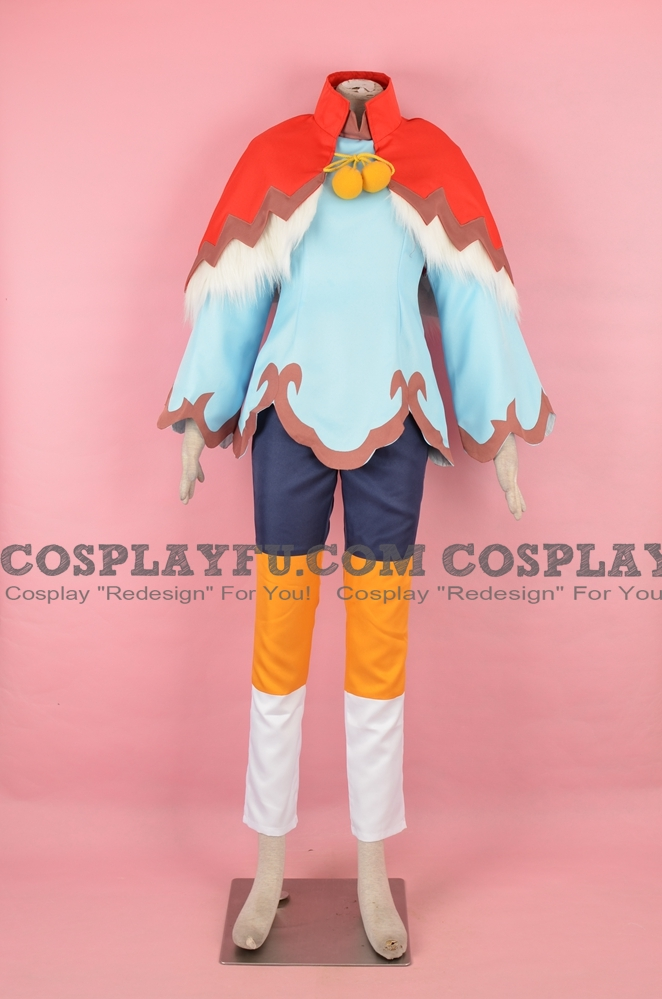 Protagonist Cosplay Costume (Female) from Monster Hunter Stories