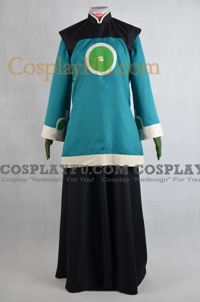 Dai Li Cosplay Costume from Avatar The Last Airbender