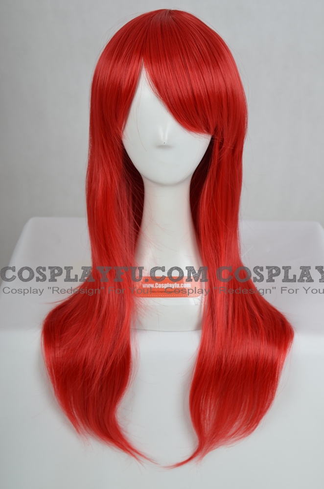 Red Wig (Long,Straight,M30)