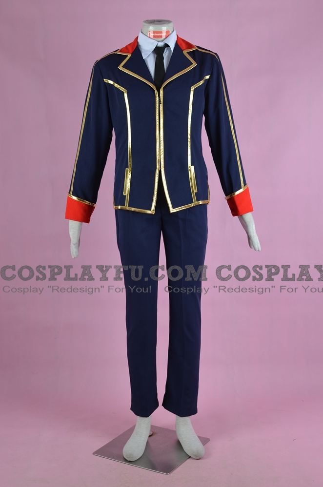 Ichiya Cosplay Costume from Qualidea Code
