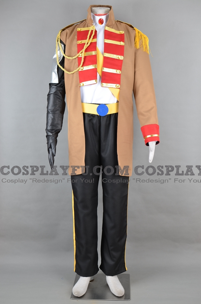 Radi Cosplay Costume from Valkyria Chronicles
