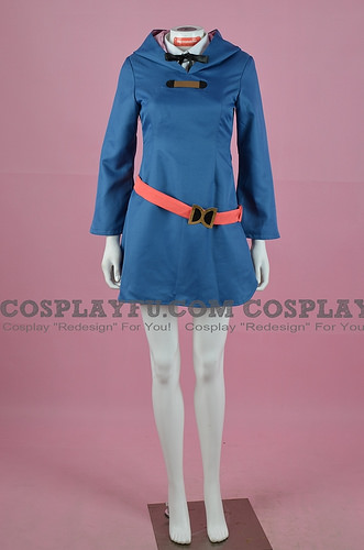 Lotte Cosplay Costume from Little Witch Academia