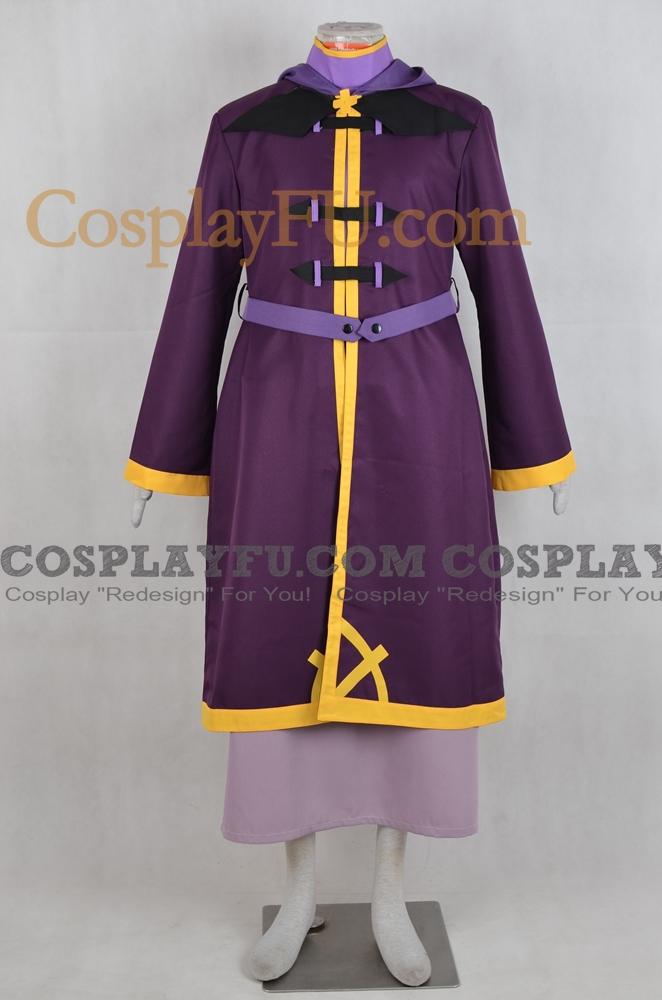 Wiz Cosplay Costume from Kono Subarashii Sekai ni Shukufuku o!