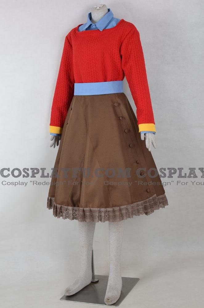 Custom Diana Cosplay Costume From Zero Time Dilemma Cosplayfu Com
