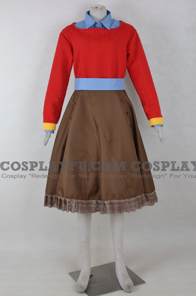 Diana Cosplay Costume from Zero Time Dilemma