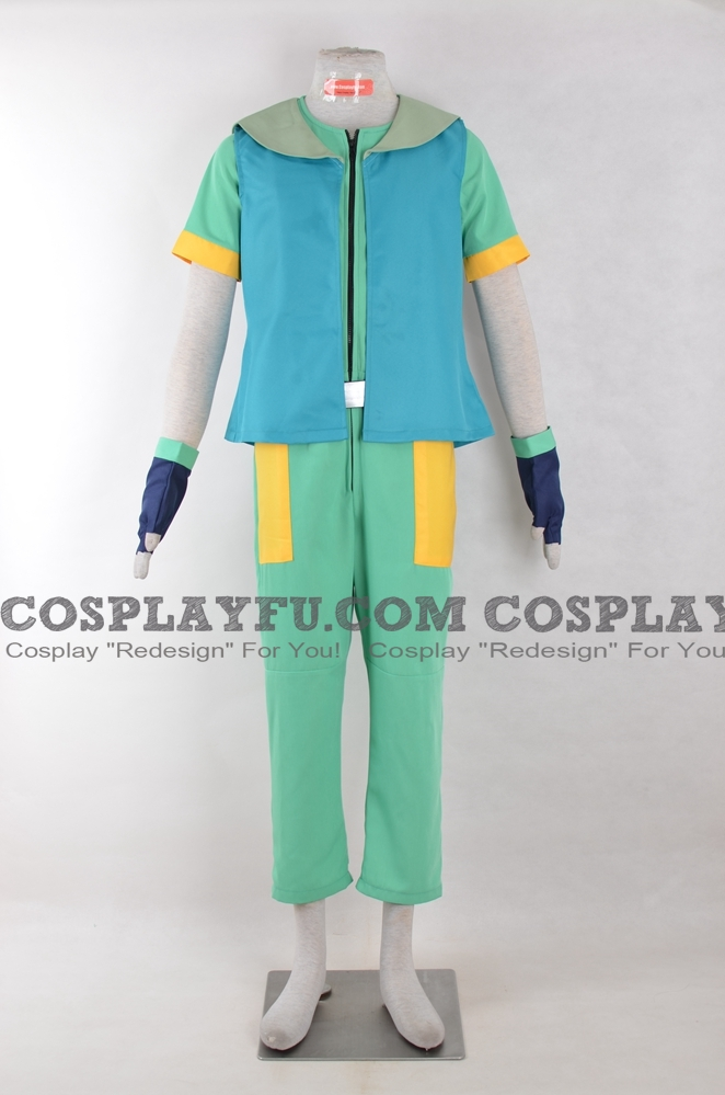 Ritchie Cosplay Costume from Pokemon