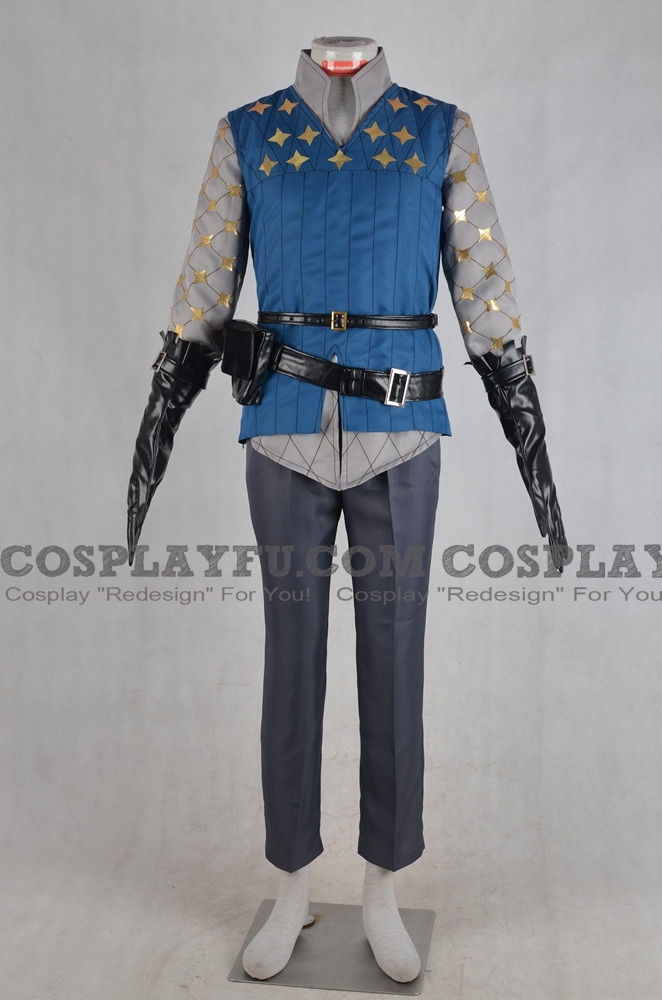 Laslow Cosplay Costume from Fire Emblem Fates
