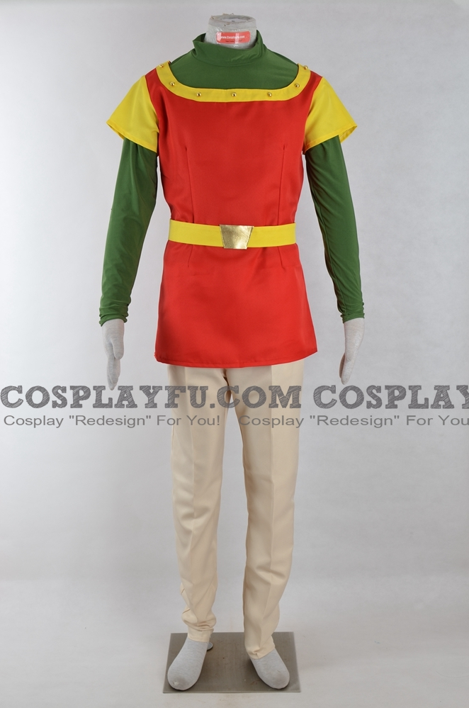 Dirk Cosplay Costume from Dragon's Lair