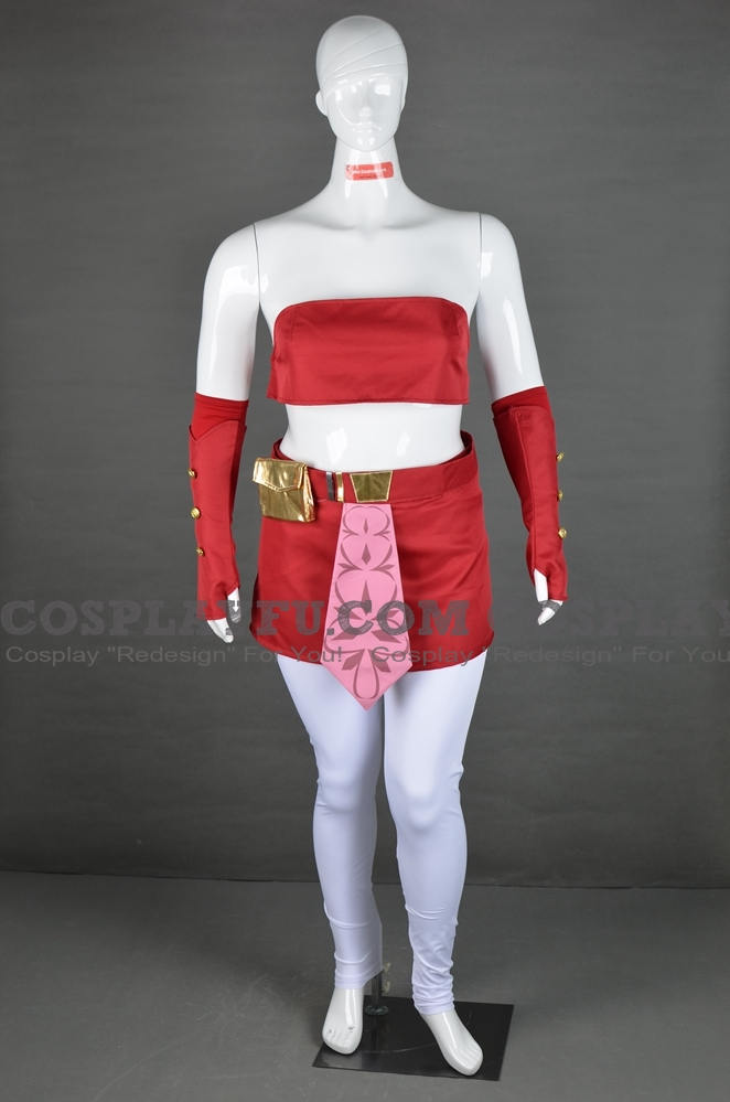 Ahsoka Cosplay Costume from Star Wars