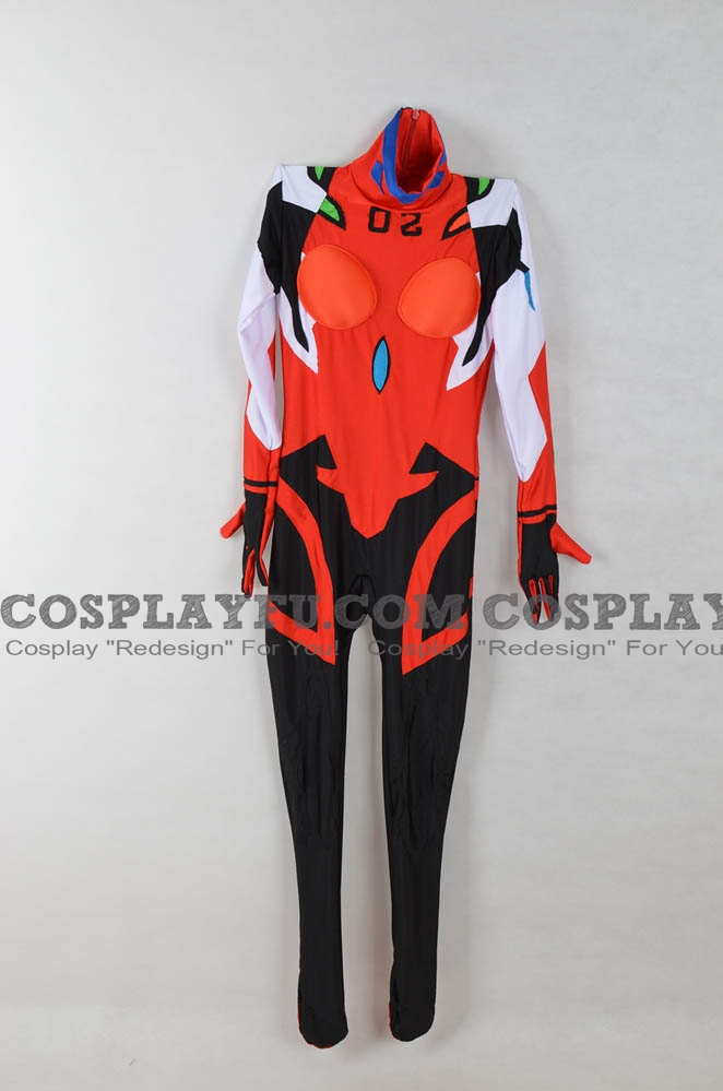 Neon Genesis Evangelion Asuka Sōryū Langley Costume (Not)