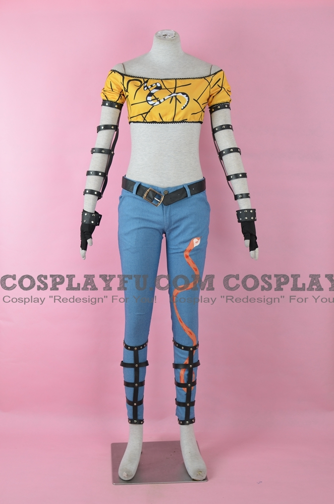 Hikage Cosplay Costume from Senran Kagura