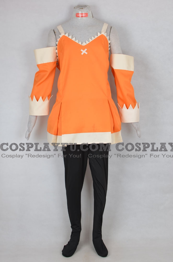 Zera Cosplay Costume from Fairy Tail