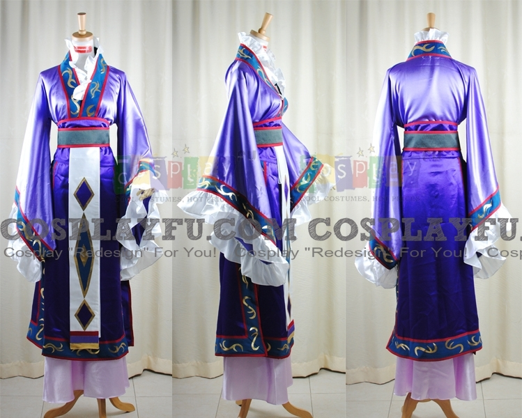 Shi Cosplay Costume from The Story of Saiunkoku