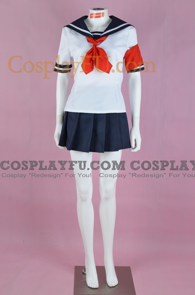 Oka Cosplay Costume from Yandere Simulator