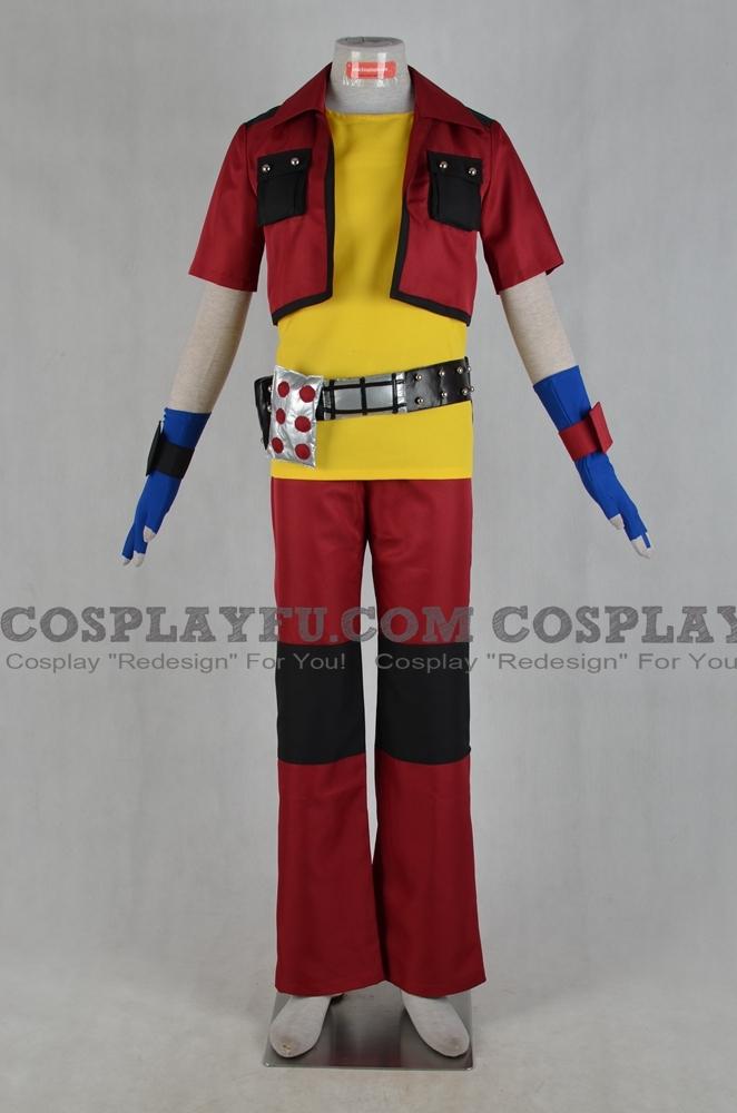 Dan Cosplay Costume from Bakugan Battle Brawlers