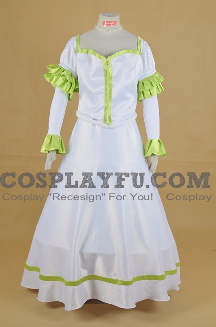 Rose Cosplay Costume from Fullmetal Alchemist