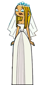 Blaineley Cosplay Costume (Wedding dress) from Total Drama