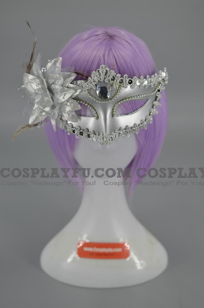 Masquerade Mask (White 01)
