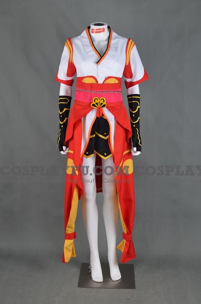 Sakuya Cosplay Costume (Goddess) from Stella Glow