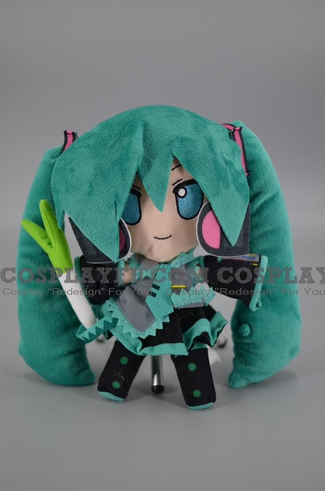 Smile Miku Plush from Vocaloid