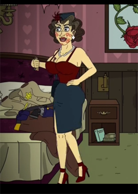 Lisa Cosplay Costume from Mr. Pickles