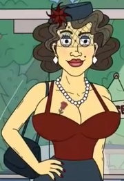 Lisa Wig from Mr. Pickles