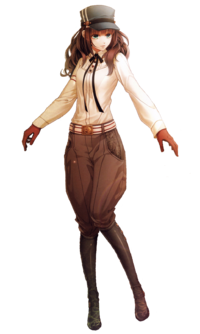 Cardia Cosplay Costume from Code: Realize