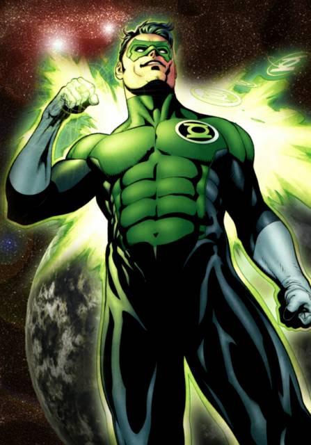 DC comics Kyle Rayner Costume