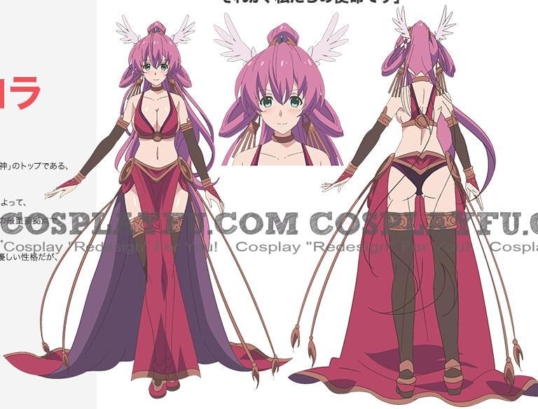Aurora Cosplay Costume from Ange Vierge