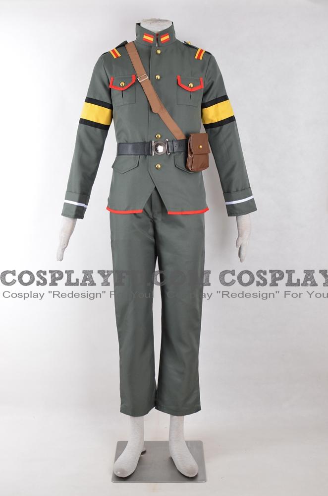 Nejimaki seirei senki: tenkyō no Alderamin Ikta Solork Costume