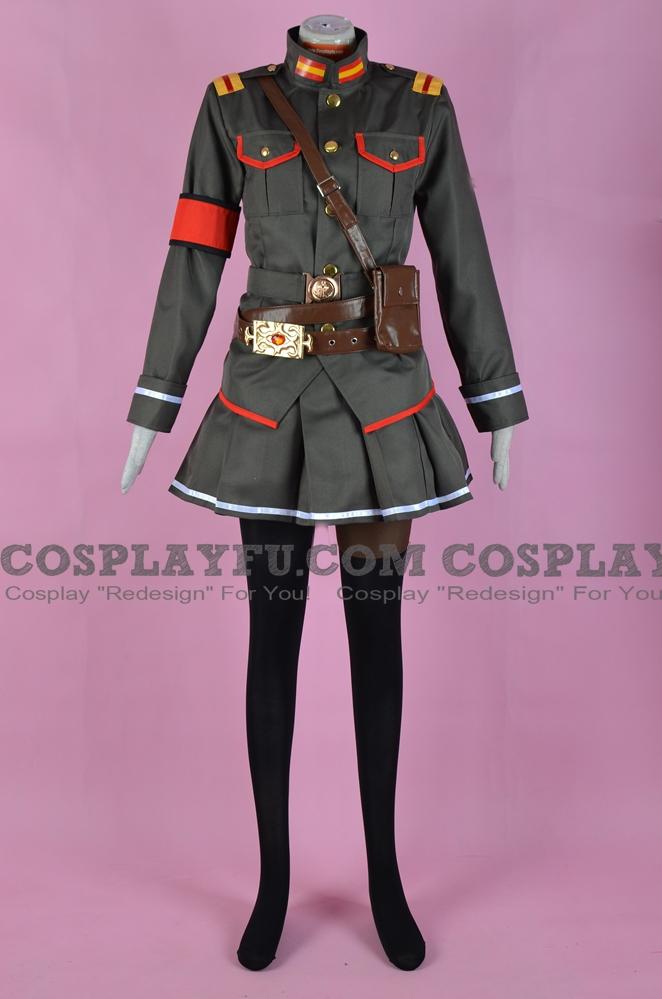 Yatorishino Cosplay Costume (Uniform) from Alderamin on the Sky