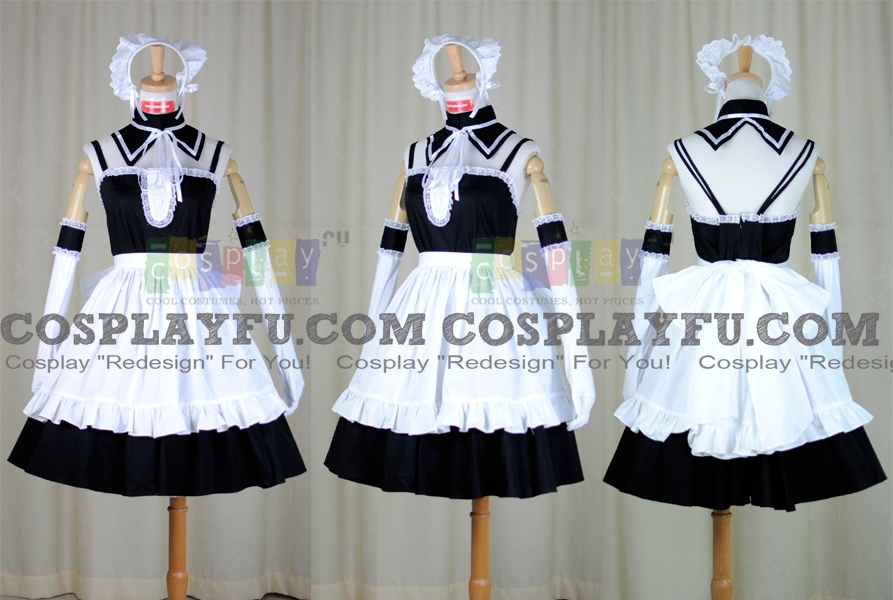 Anna Cosplay Costume from He Is My Master