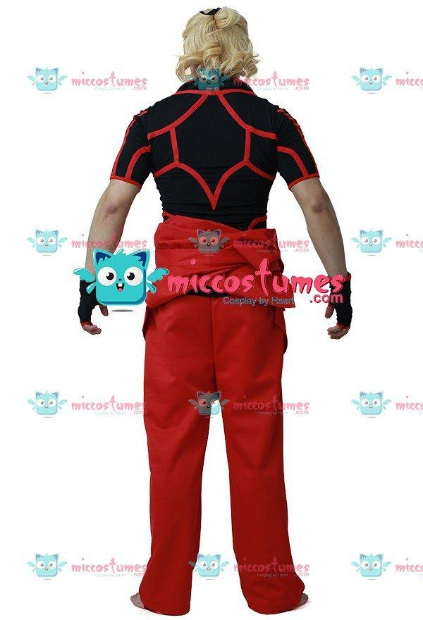Custom Ken Cosplay Costume From Street Fighter 4 Cosplayfu Com