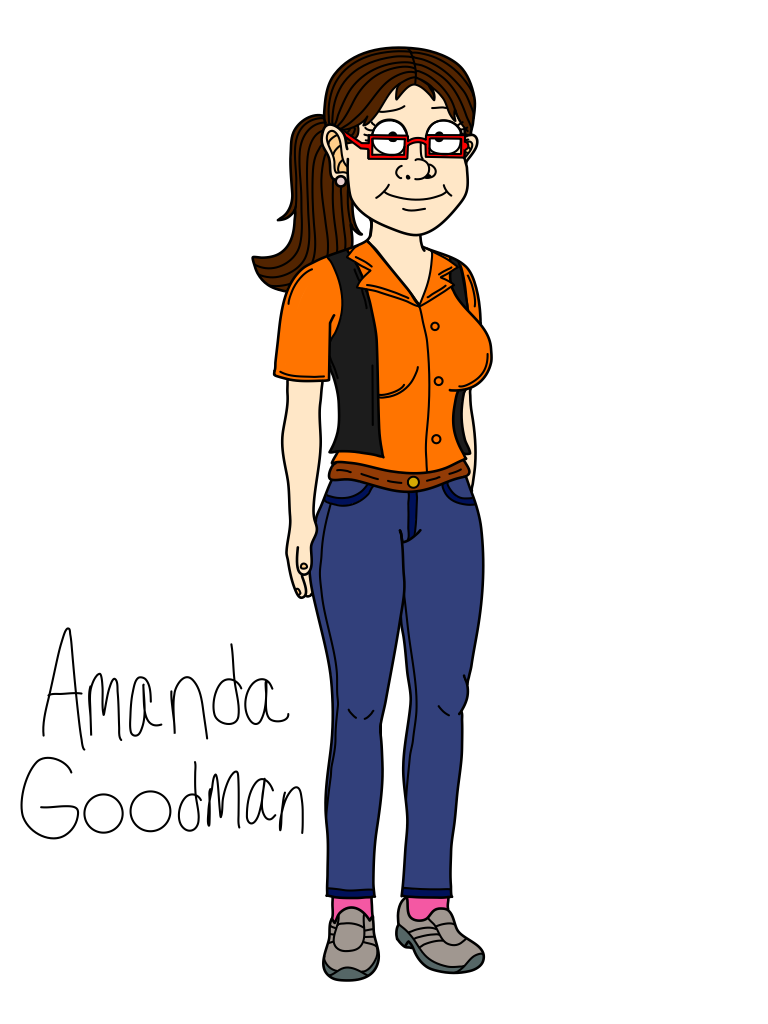 Amanda Cosplay Costume from Mr. Pickles